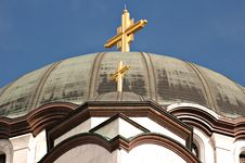 St. Sava Temple In Belgrade Royalty Free Stock Photos