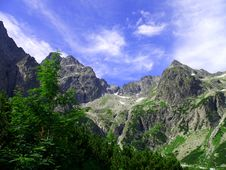 Free High Tatras Mountains Royalty Free Stock Photography - 3047907