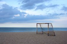Free The Goal Royalty Free Stock Image - 3048146
