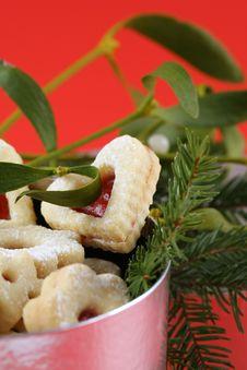 Free Christmas Cookies Stock Image - 3048871