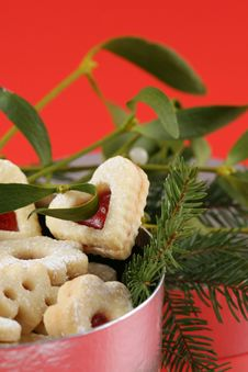 Free Christmas Cookies Royalty Free Stock Photography - 3048887