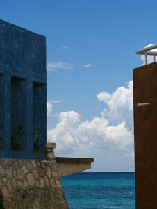Free Carribean View Stock Photography - 3049542