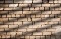 Free Diagonal Shadow Lines On Brick Wall Pattern Royalty Free Stock Photos - 30404268
