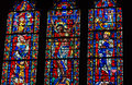 Free Stained Glass Window From National Cathedral Royalty Free Stock Photo - 30408575