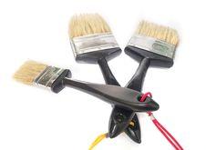 Free Paint Brush Stock Photo - 30401340