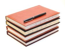 Free Notebook And Pen Stock Photo - 30402210