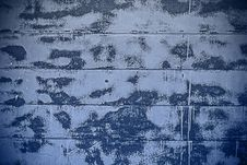 Free Spotted Blue And White Wall Background Royalty Free Stock Photography - 30404257