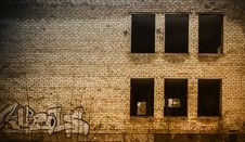 Free Exterior Of Abandoned Building Close Up Stock Photography - 30404282