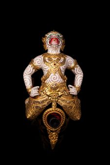 Free Traditional Hanuman Stock Photo - 30405290