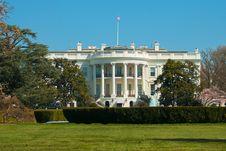 Free The White House Royalty Free Stock Photos - 30406368