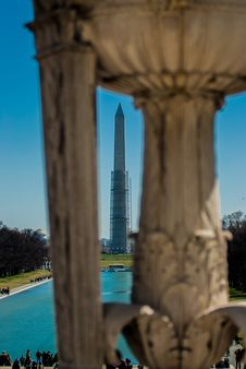 Free Washington Monument Royalty Free Stock Photo - 30406385