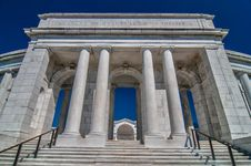 View  Of The Memorial Amphitheater Royalty Free Stock Image