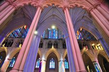 Free Interior Of A National Cathedral Royalty Free Stock Photo - 30408295