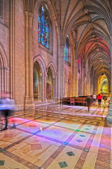 Free Interior Of A National Cathedral Stock Images - 30408304