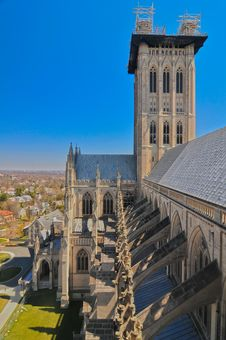 Free National Cathedral Washington Dc Royalty Free Stock Photography - 30408427