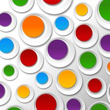 Free Paper Color Bubbles Royalty Free Stock Images - 30410619