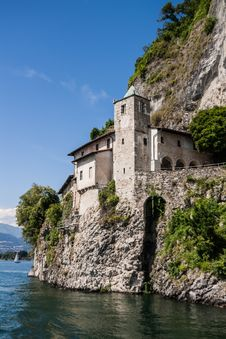 Free Monastery Of Santa Caterina, By Lake Maggiore, Italy Stock Image - 30412441