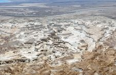 Free Dead Sea Plain Panorama. Royalty Free Stock Image - 30412616