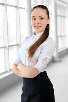 Free Business Girl Royalty Free Stock Photography - 30413097
