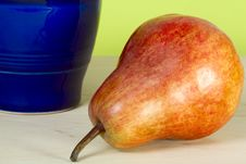 Pear And Jug Royalty Free Stock Photos