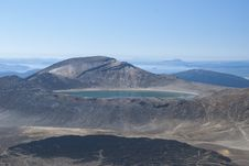 Free Lake At Tongariro Crossing Stock Image - 30414551