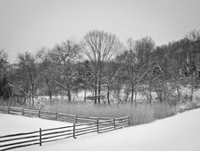 Free Meadow Snow Royalty Free Stock Images - 30415279