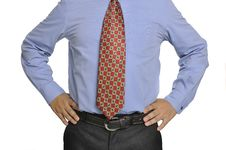 Body Part Of Business Man Stock Image