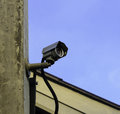 Free Cctv On The Roof Royalty Free Stock Photos - 30427168