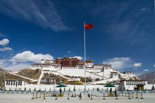 Free Potala Palace Stock Photography - 30420112