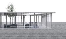 Free Futuristic Architecture,  Conceptual Modern Building Stock Image - 30422311