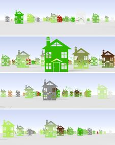 Free Banner Urban Construction Royalty Free Stock Images - 30423199