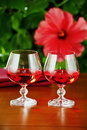 Free Wine Glasses With Red Wine Stock Images - 30431034