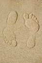 Free Traces On Sand Stock Images - 30432284