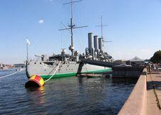 Free Cruiser Monument In St. Petersburg Stock Photos - 30432193