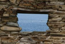 Free Window To The Sea Royalty Free Stock Photography - 30434207