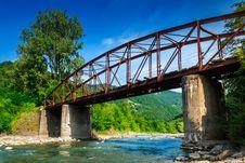 Free Old Bridge Royalty Free Stock Image - 30435486