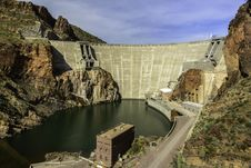Free Theodore Roosevelt Dam Royalty Free Stock Photos - 30436448