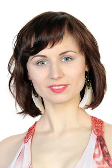 Free Close Up Portrait Of Young Caucasian Woman Stock Photos - 30436773