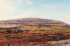 Free The Rolling Hills Of Burren Royalty Free Stock Photography - 30436797