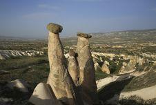 Free Fairy Chimneys Cappadocia,Turkey Royalty Free Stock Photos - 30437338