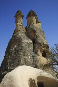 Free Fairy Chimneys Cappadocia,Turkey Stock Image - 30437791