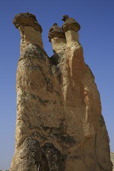 Free Fairy Chimneys Cappadocia,Turkey Stock Photos - 30437863