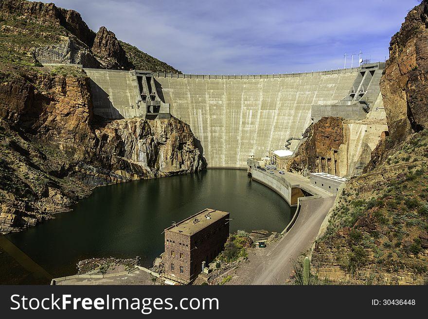 Theodore Roosevelt Dam