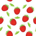 Free Seamless Background Pattern- Colorful Strawberry Royalty Free Stock Images - 30440129