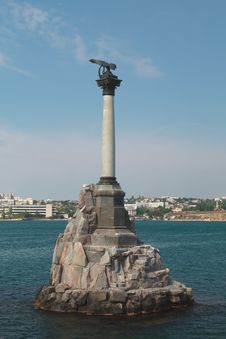 Free The Sunken Ships Monument. Stock Images - 30440744