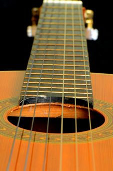Free Classic Guitar. Stock Images - 30442724