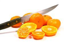 Free Cut Oranges. Stock Images - 30443544