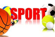 Free Sport 3D Stock Image - 30444261