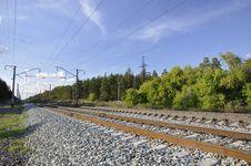 Free Railway. Royalty Free Stock Photos - 30448638
