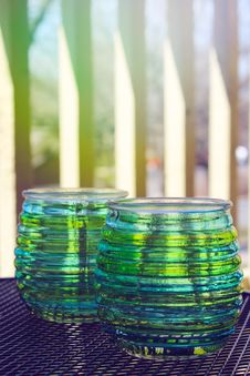 Free Beautiful Design With Glass Cups Royalty Free Stock Photo - 30449055